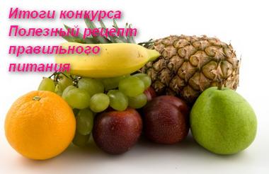 тема здорового питания
